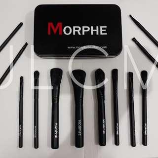 MORPHE BLACK MATTE 12PCS BRUSH SET