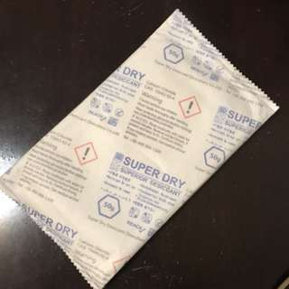 Reusable silica gel 50g