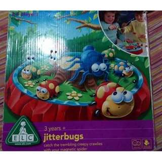 ELC Jitterbugs game pre owned in like new/excellent condition imported