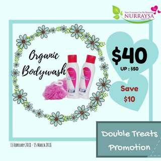 Nurraysa Organic Bodywash
