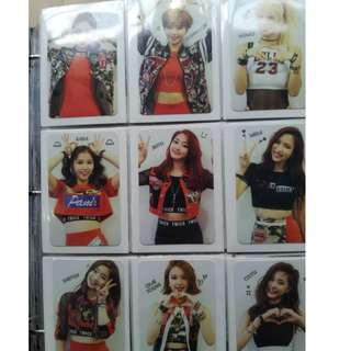 WTS TWICE PHOTOCARD COLLECTION SETS