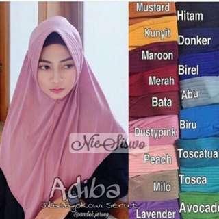 Hijab jokowi serut