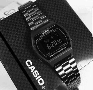 Casio Vintage Watch Black