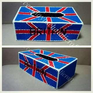 Britain theme tissue topper