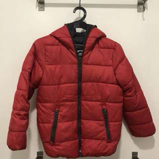 Zara kids' winter jacket