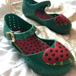 Cute Mini Melissa Watermelon Pump