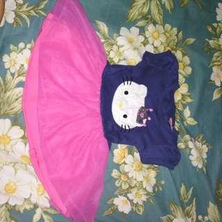 Dress hello Kitty pink