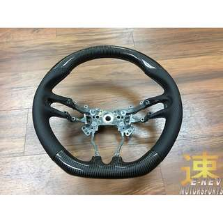 Honda Civic FD Real Carbon Fibre Steering Wheel (Promotion Period Only)