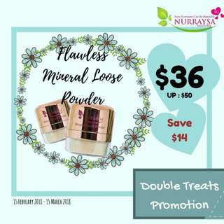 Nurraysa Mineral Loose Powder