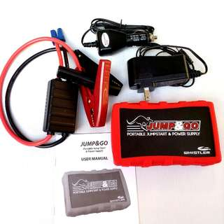 Whistler 12V Compact JumpStarter & Power Supply