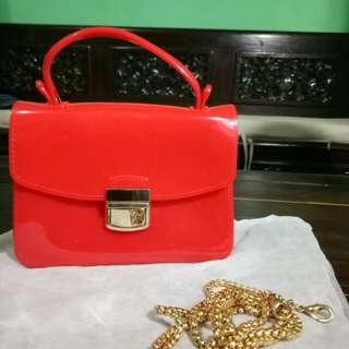 Saleeeee Jelly Kelly Sling bag