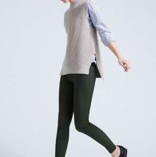 Lativ 彈力顯瘦窄管褲