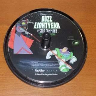 Disney Pixar Buzz Lightyear Of Star Command VCD