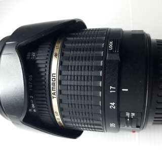 TAMRON 17 - 50 MM F 2.8 XR Di II SP