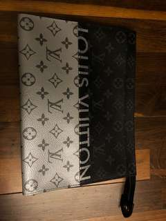 LV Louis Vuitton clutch limited edition Kim Jones
