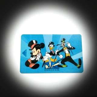 香港迪士尼樂園,好萊塢酒店房卡(紀念品)