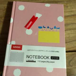 Notebook with lines