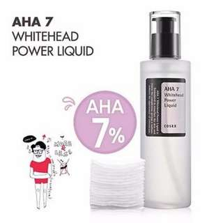 Instock CosRX AHA 7 Whitehead Power Liquid