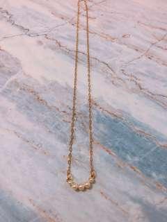 韓風 小珍珠 頸鏈 瑣骨鏈
