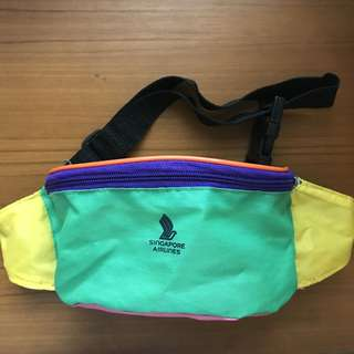 SIA / SQ / Singapore Airlines Fanny Pack/Waist Pouch