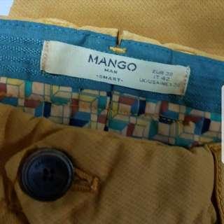 Yellow Mango Pants