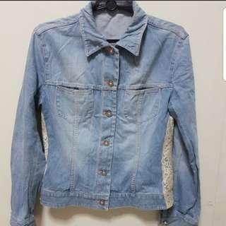 Denim Jacket  ( Lace size M-L)