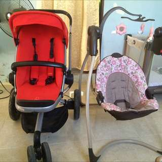 Take all quinny buzz and graco swing