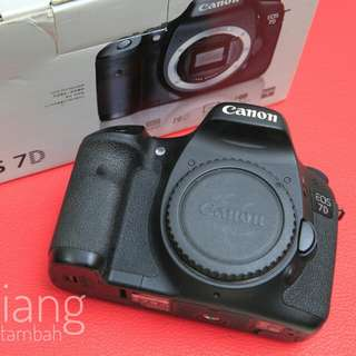 [PROCAM] Canon EOS 7D Body Only Mulus Fullset