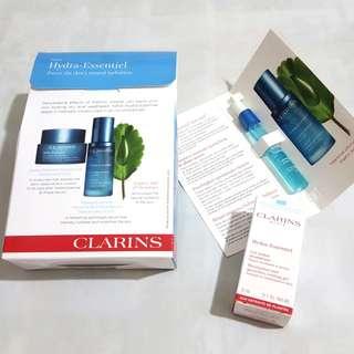 BN Clarins Hydra-essential Moisturiser & Serum Sample
