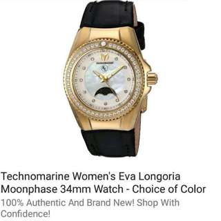 Technomarine Eva Longoria Moonphase Watch