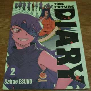 The Future Diary / Mirai Nikki komik/manga vol. 2