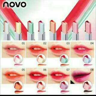 Novo two toned lipstick