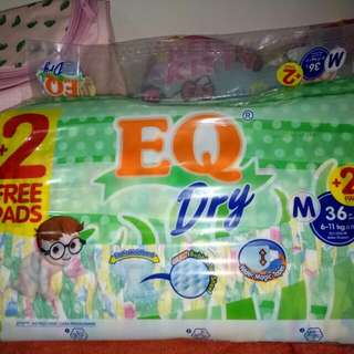 EQ DRY PAMPERS
