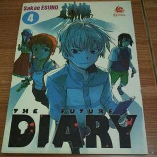 The future diary / mirai nikki komik/manga vol. 4