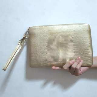 Charles and Keith Embossed Pouch (Nett Price) REPRICE!