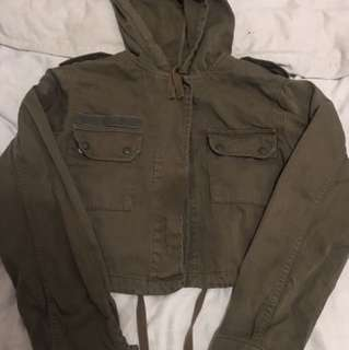 Topshop army jacket