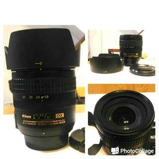 🚚 Nikon AF-S 18-70