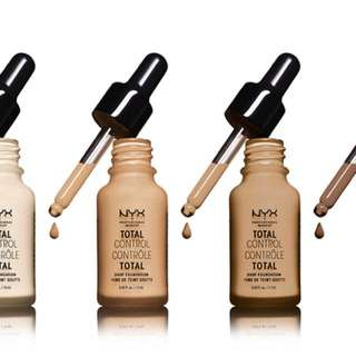 NYX Total Control Drop Foundation #10 BUFF