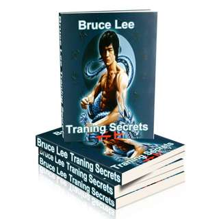 The Bruce Lee Training Secret (Package of 5 Martial Arts eBooks)