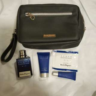 Singapore Airlines First-Class Toiletry Kit
