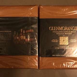 罕有 格蘭杰 Glenmorangie 4味 whisky sample 收藏 酒版 每支100ml 小酒 酒辦 酒板,不是Macallan 響 山崎