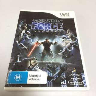 Star Wars: The Force Unleashed for Wii