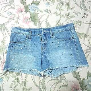Riped Short Jeans Uniqlo Size M