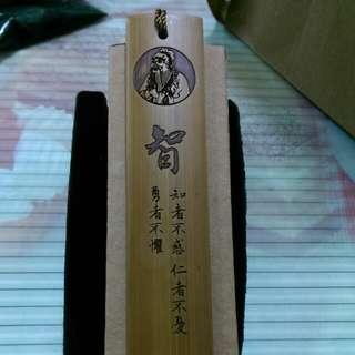 🚚 木雕書籤