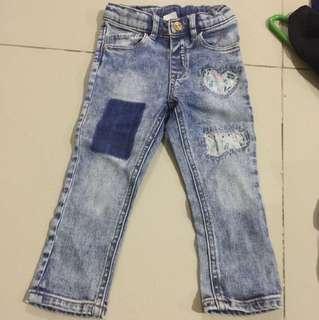 Patch jeans H&M