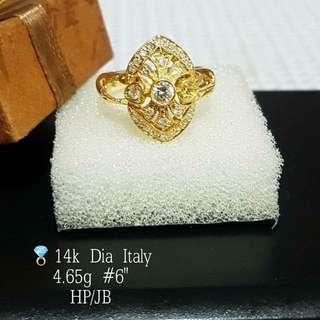 ITALY DIAMOND RINGS