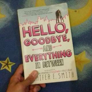 Novel Hello, Goodbye, and Everything in Between