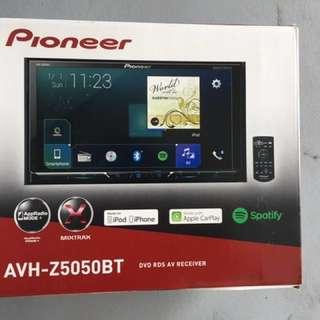 Pioneer 5050 Bluetooth Apple play