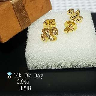 ITALY DIAMOND EARRINGS