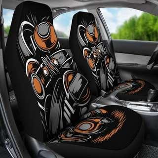 """Head Phone """"Beats"""" Car Seat Covers"""